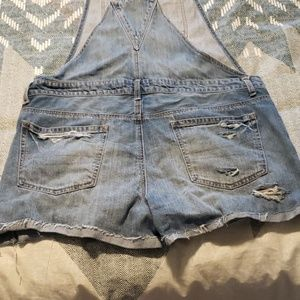American Eagle Outfitters Other - American Eagle Destructed Overalls Sz L